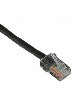 Black Box CAT5EPC-B-003-BK 0.9m Cat5e U/UTP (UTP) Musta verkkokaapeli Black Box CAT5EPC-B-003-BK - 1