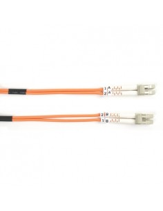 Black Box FO625-LSZH-005M-LCLC valokuitukaapeli 5 m OM1 LC Oranssi Black Box FO625-LSZH-005M-LCLC - 1