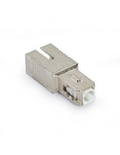 Black Box M/F SC, APC, 15dB valokuituadapteri Hopea 1 kpl Black Box FOAT55S1-SC-15DB - 1