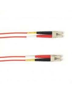 Black Box FOLZH10-005M-LCLC-RD valokuitukaapeli 5 m LSZH OM4 LC Punainen Black Box FOLZH10-005M-LCLC-RD - 1