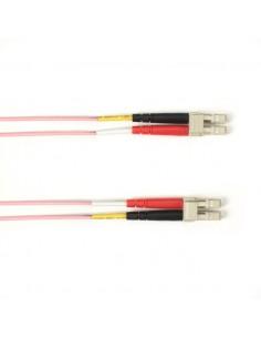 Black Box FOLZH50-001M-LCLC-PK valokuitukaapeli 1 m LSZH OM2 LC Vaaleanpunainen Black Box FOLZH50-001M-LCLC-PK - 1