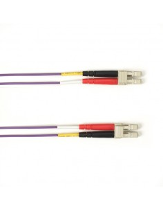 Black Box FOLZH50-002M-LCLC-VT valokuitukaapeli 2 m LSZH OM2 LC Violetti Black Box FOLZH50-002M-LCLC-VT - 1