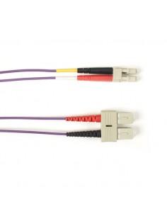 Black Box FOLZHSM-025M-SCLC-VT valokuitukaapeli 25 m LSZH OS2 SC LC Violetti Black Box FOLZHSM-025M-SCLC-VT - 1