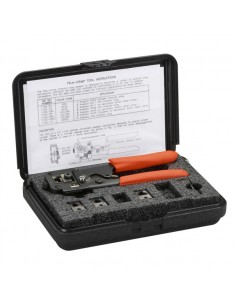 Black Box FT047A Puristustyökalu Musta, Oranssi johtopihdit Black Box FT047A - 1