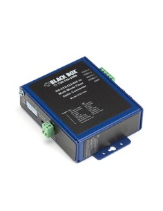 Black Box ICD115A sarjamuunnin/-toistin/-eristin RS-232/422/485 Kuitu (ST) Musta, Sininen Black Box ICD115A - 1