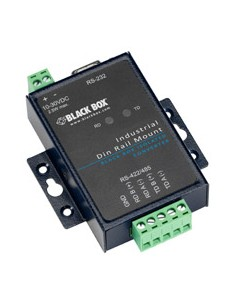 Black Box ICD400A sarjamuunnin/-toistin/-eristin RS-232 RS-422/485 Musta Black Box ICD400A - 1