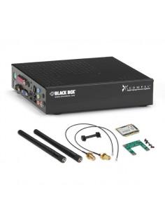 Black Box ICKS-VE-KU-W 1.8GHz D525 1300g Musta kevyt asiakaspääte Black Box ICKS-VE-KU-W - 1