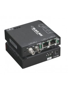 Black Box LBH100A-H-ST-48 verkon mediamuunnin 100 Mbit/s Monitila Musta Black Box LBH100A-H-ST-48 - 1