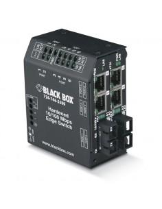 Black Box LBH240A-H-ST-12 verkkokytkin L2 Fast Ethernet (10/100) Musta Black Box LBH240A-H-ST-12 - 1