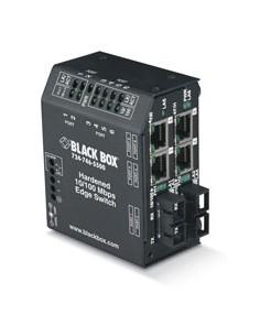 Black Box LBH240AE-H-SC verkkokytkin L2 Fast Ethernet (10/100) Musta Black Box LBH240AE-H-SC - 1