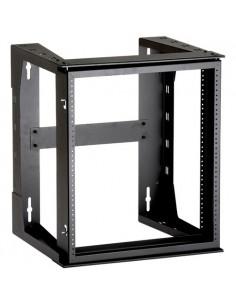Black Box Blackbox Wall Frame - M6 Rails, 12u Black Box RM070A-R3-M6 - 1