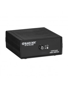 Black Box SW1030A Network transmitter & receiver Musta verkkolaajennin Black Box SW1030A - 1