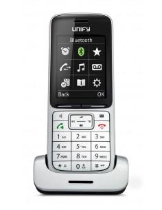 Unify SL5 DECT-puhelin Musta, Hopea Soittajan tunnistus Unify L30250-F600-C450 - 1