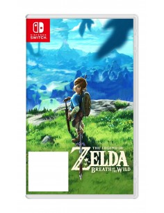 Nintendo the Legend of Zelda: Breath Wild Switch Perus Saksa, Englanti, Italia Nintendo 2520040 - 1