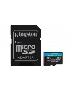Kingston Technology Canvas Go! Plus flash-muisti 128 GB MicroSD UHS-I Luokka 10 Kingston SDCG3/128GB - 1