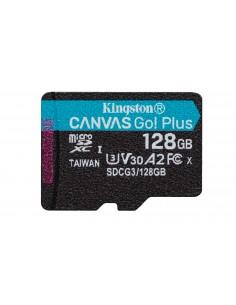 Kingston Technology Canvas Go! Plus flash-muisti 128 GB MicroSD UHS-I Luokka 10 Kingston SDCG3/128GBSP - 1