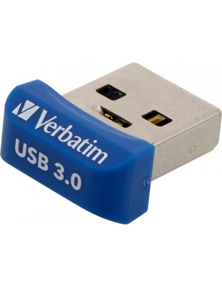 Verbatim Store 'n' Stay Nano USB-muisti 64 GB USB A-tyyppi 3.2 Gen 1 (3.1 1) Sininen Verbatim 98711 - 2