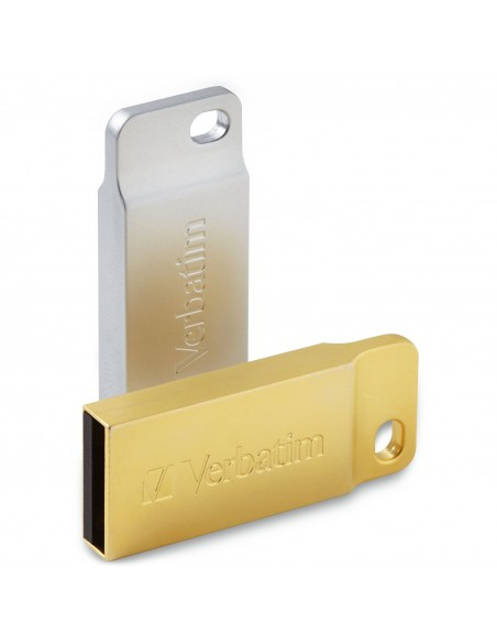 Verbatim Metal Executive USB-muisti 32 GB USB A-tyyppi 2.0 Hopea Verbatim 98749 - 2