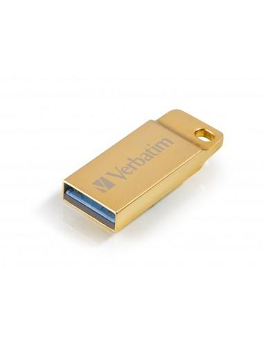 Verbatim Metal Executive USB-muisti 64 GB USB A-tyyppi 3.2 Gen 1 (3.1 1) Kulta Verbatim 99106 - 1