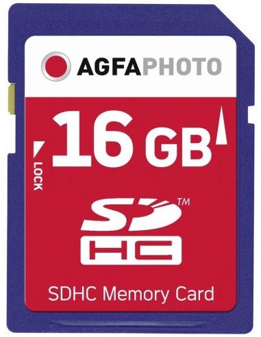 AgfaPhoto 16GB SDHC flash-muisti Agfaphoto 10408 - 1