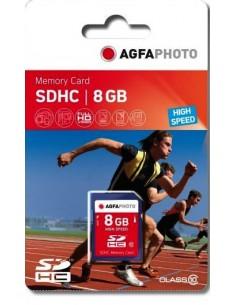 AgfaPhoto 8GB SDHC flash-muisti Luokka 10 MLC Agfaphoto 10425 - 1