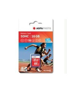 AgfaPhoto 16GB SDHC flash-muisti Luokka 10 MLC Agfaphoto 10426 - 1