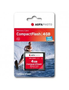 AgfaPhoto Compact Flash, 4GB flash-muisti CompactFlash Agfaphoto 10432 - 1