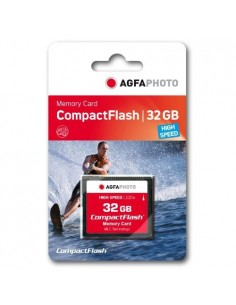 AgfaPhoto USB & SD Cards Compact Flash 32GB SPERRFRIST 01.01.2010 flash-muisti CompactFlash Agfaphoto 10435 - 1
