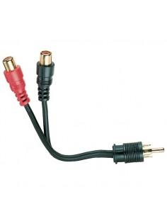 Black Box RCA/RCA x 2 RCA x2 Musta kaapeli liitäntä / adapteri Black Box EJ400 - 1