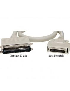 Black Box D50/D50, 3m D50 Harmaa sarjakaapeli Black Box EVMSC02-0010-MM - 1