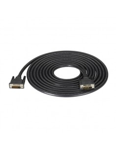 Black Box DVI-D m/m 4.57m Musta DVI-kaapeli Black Box EVNDVI02-0015 - 1