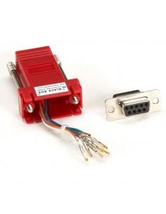 Black Box FA4509F-RD RJ-45 DB9 Punainen kaapeli liitäntä / adapteri Black Box FA4509F-RD - 1