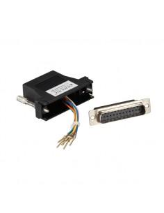 Black Box FA4525M-BK kaapeli liitäntä / adapteri DB25 RJ-11, RJ-45 Musta Black Box FA4525M-BK - 1