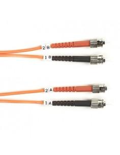 Black Box FO50-LSZH-010M-STST valokuitukaapeli 10 m OM2 ST Oranssi Black Box FO50-LSZH-010M-STST - 1