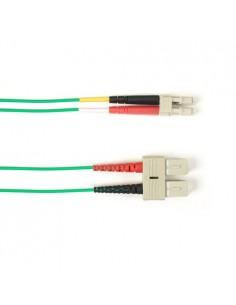 Black Box FOCMR10-001M-SCLC-GN valokuitukaapeli 1 m OFNR OM3 SC LC Vihreä Black Box FOCMR10-001M-SCLC-GN - 1