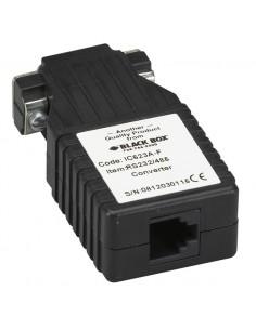 Black Box IC623A-F RS-232 RS-485 Musta sarjamuunnin/-toistin/-eristin Black Box IC623A-F - 1