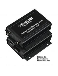 Black Box MD650A-85 verkkolaajennin Verkkolähetin ja -vastaanotin Musta Black Box MD650A-85 - 1