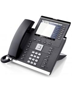 Unify OpenScape IP 55G IP-puhelin Musta Johdollinen puhelin TFT 8 linjat Unify L30250-F600-C290 - 1
