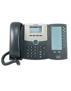 Cisco SPA500DS IP-puhelin Musta Johdollinen puhelin 30 linjat LCD Cisco SPA500DS - 1