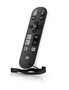 One For All URC6810 kauko-ohjain Ääni, Kotiteatterijärjestelmä, STB, TV, TV-digisovitin Painikkeiden painaminen Oneforall URC681