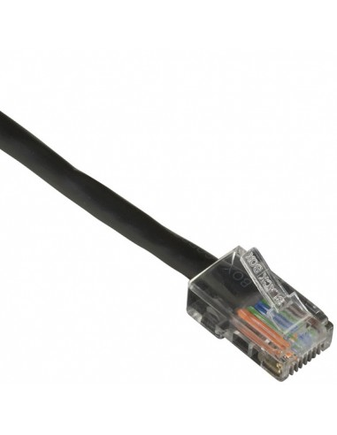 Black Box CAT6PC-B-005-BK verkkokaapeli 1.5 m Cat6 U/UTP (UTP) Musta Black Box CAT6PC-B-005-BK - 1