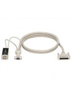 Black Box EHNUSB-0001 KVM-kaapeli 0.3 m Valkoinen Black Box EHNUSB-0001 - 1