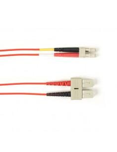 Black Box FOLZH62-020M-SCLC-RD valokuitukaapeli 20 m LSZH OM1 SC LC Punainen Black Box FOLZH62-020M-SCLC-RD - 1