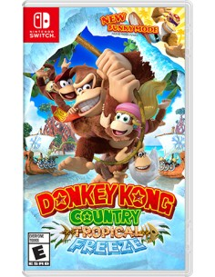 Nintendo Donkey Kong Country Tropical Freeze Switch Perus Nintendo 2522940 - 1