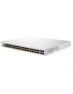 Cisco CBS250-48PP-4G-EU verkkokytkin Hallittu L2/L3 Gigabit Ethernet (10/100/1000) Hopea Cisco CBS250-48PP-4G-EU - 1