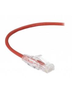Black Box CAT6 1.5m verkkokaapeli 1.5 m U/UTP (UTP) Punainen Black Box C6PC28-RD-05 - 1
