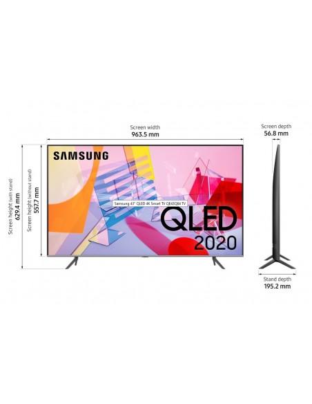 Samsung 43inch Q64 QLED 4K TV Samsung QE43Q64TAUXXC - 3