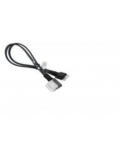 Supermicro CBL-SAST-0388L-02 Serial Attached SCSI (SAS) cable 0.36 m Black Supermicro CBL-SAST-0388L-02 - 1