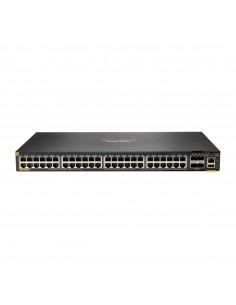 Hewlett Packard Enterprise Aruba 6200F 48G Class4 PoE 4SFP+ 740W Hallittu L3 Gigabit Ethernet (10/100/1000) Power over -tuki 1U