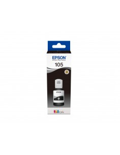 Epson 105 EcoTank Pigment Black ink bottle Epson C13T00Q140 - 1